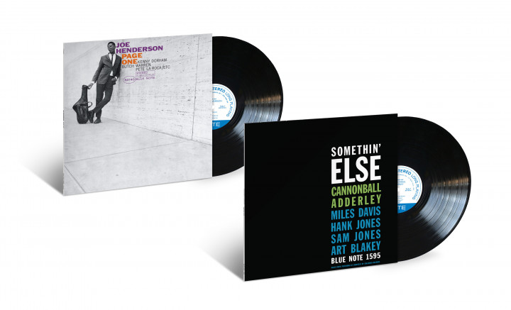 "Blue Note Classic Vinyl - Joe Henderson ""Page One"" / Cannonball Adderley ""Somethin' Else"""