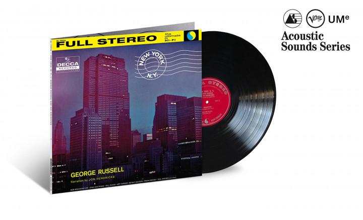 "JazzEcho-Plattenteller: George Russell ""New York, N.Y."" (Verve Acoustic Sounds Series)"