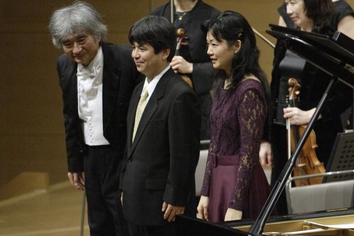 Seji Ozawa, Toshio Hosokawa, Momo Kodama