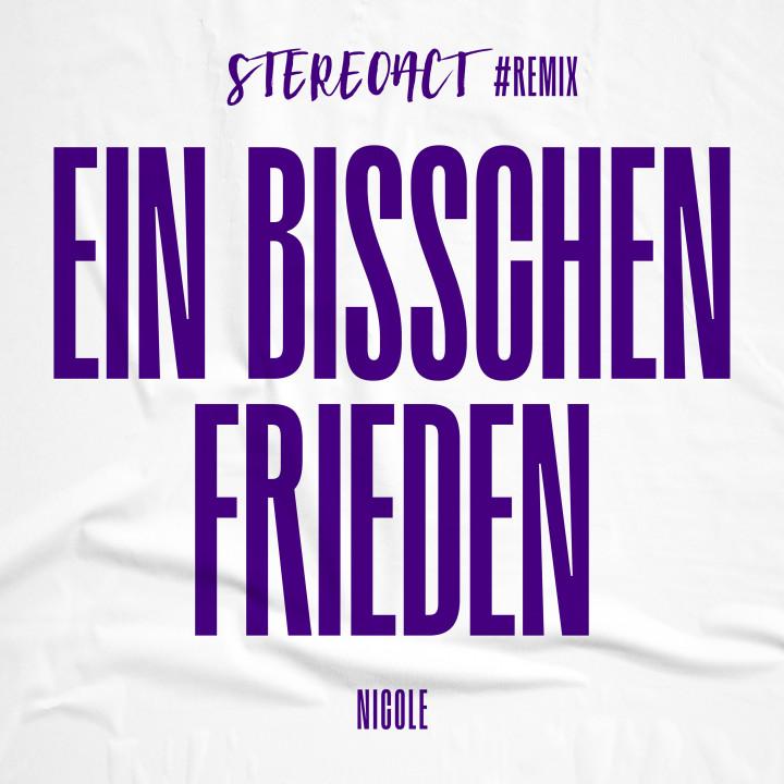 Stereoact - Ein bisschen Frieden - Cover