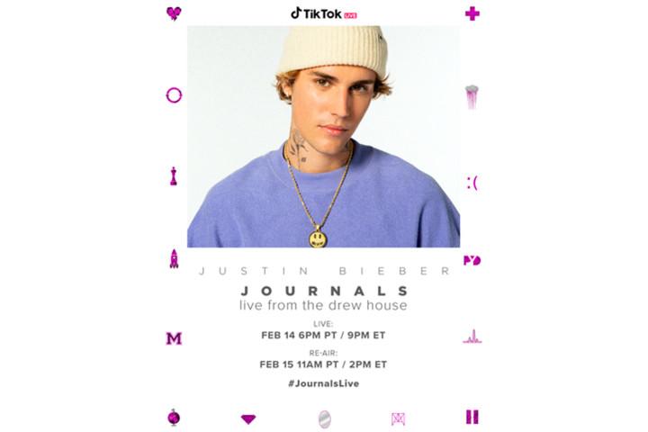 Justin Bieber Tik Tok Konzert