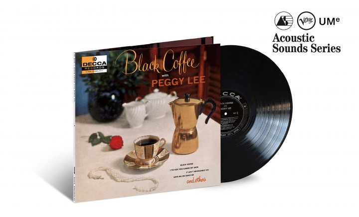 "JazzEcho-Plattenteller: Peggy Lee ""Black Coffee"" (Verve Acoustic Sounds Series)"