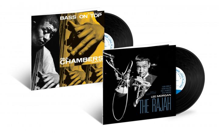 """JazzEcho-Plattenteller: Tone Poet Vinyl Series - Paul Chambers """"Bass On Top"""" / Lee Morgan """"The Rajah"""""""
