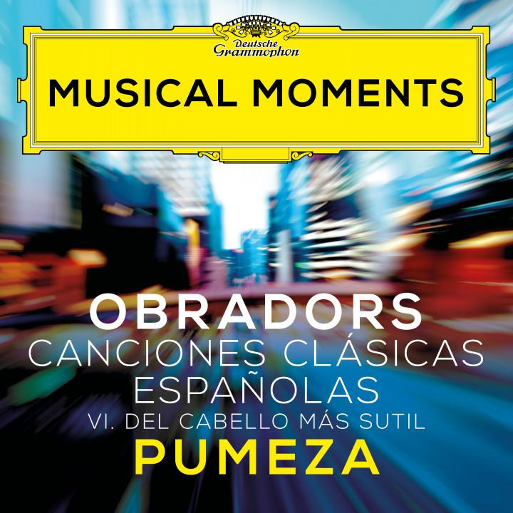 Pumeza - Obradors: Canciones Clásicas Españolas, Vol. 1: VI. Del cabello más sutil (Dos cantares populares) Cover