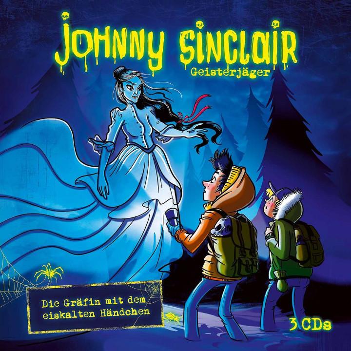 Die Gräfin mit dem eiskalten Händchen - 3-CD Hörspielbox
