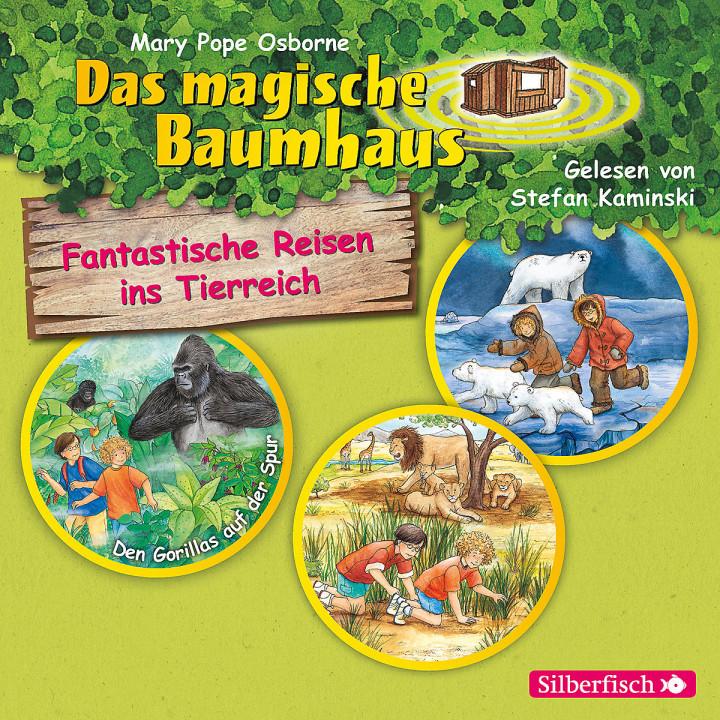 Fantastische Reisen ins Tierreich - Hörbuchbox