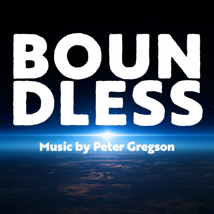 Peter Gregson - Boundless Cover