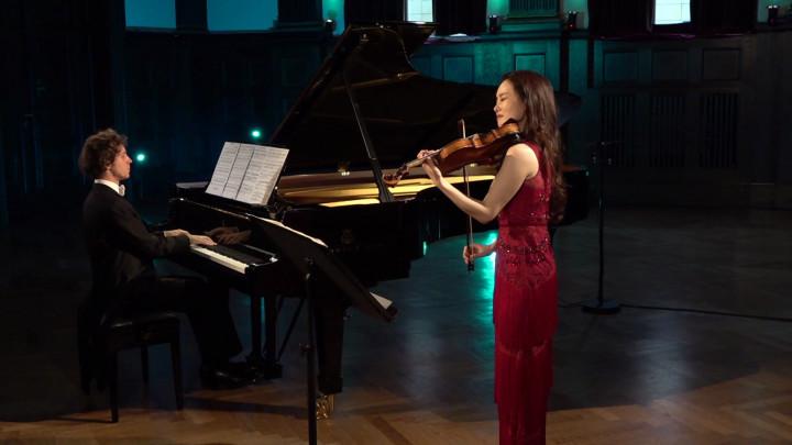 Rafał Blechacz & Bomsori Kim - Liszt: Consolations, S. 172: III. Lento placido in D Flat (Transcr. Milstein)