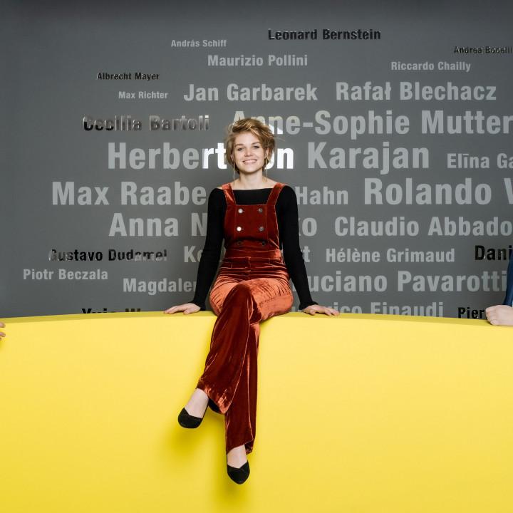 Angelika Meissner, Director Classical, Artists & Repertoire, Magdalena Hoffmann, Dr Clemens Trautmann, President Deutsche Grammophon
