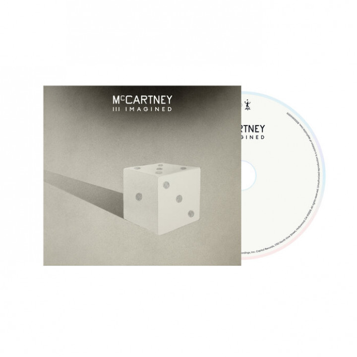 McCartney III Imagined CD white