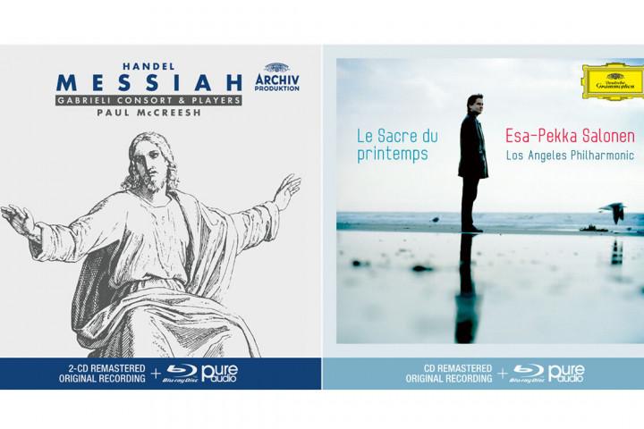 Handel Messiah, Paul McCreesh - La Sacre du printemps, Esa-Pekka Salonen