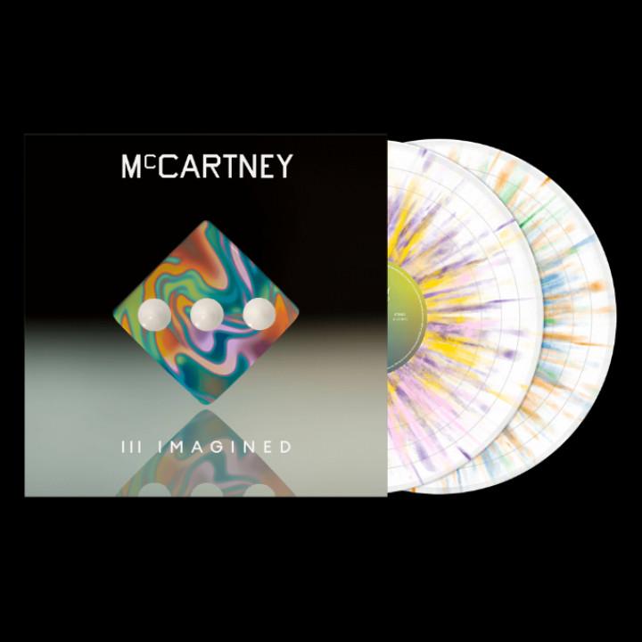 Paul McCartney III Imagined Splatter Vinyl
