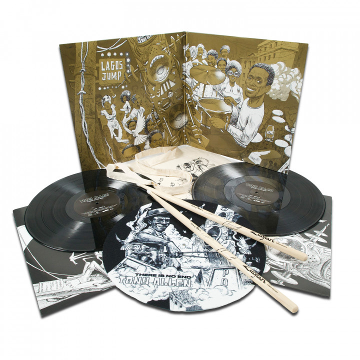 There Is No End   (excl. Box-Set including Tote bag, 2LP, Slipmat, Drum Stick, poster)