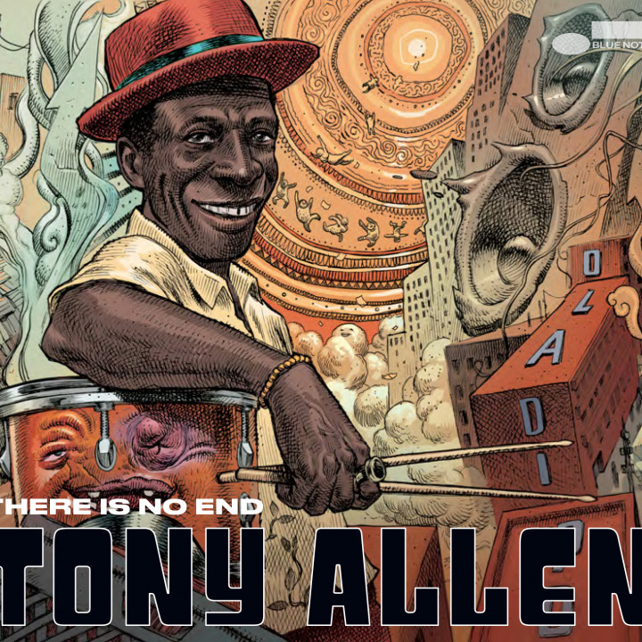 Tony Allen – There Is No End – CD Cover