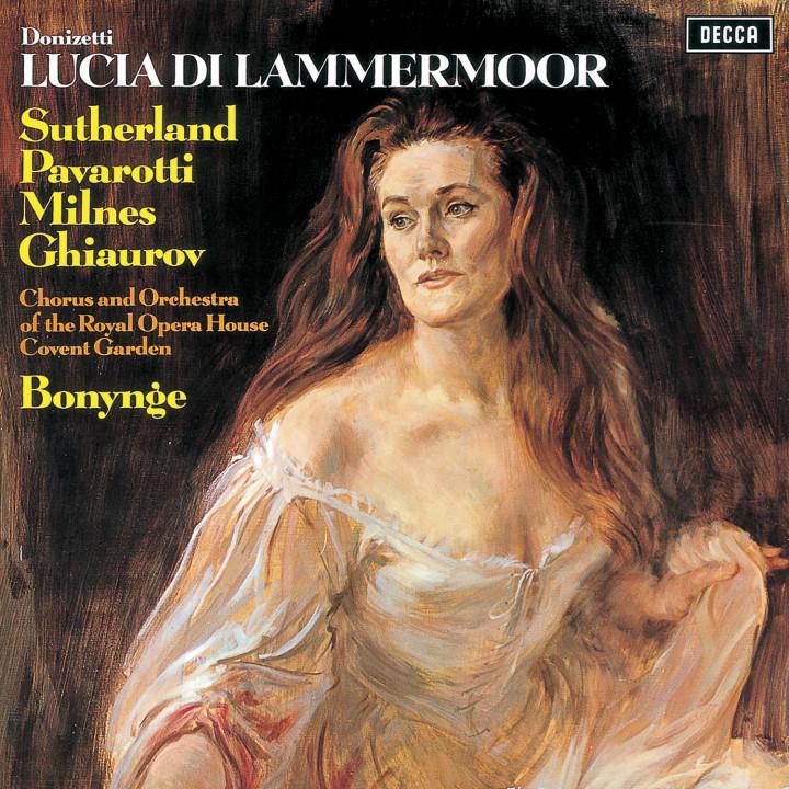DONIZETTI Lucia di Lammermoor/Sutherland,Pavarotti