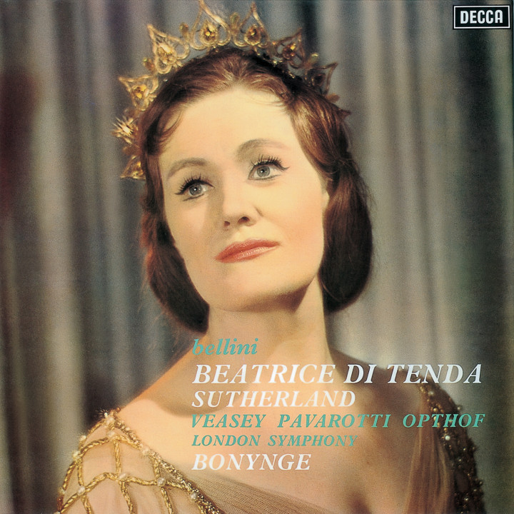 BELLINI Beatrice di Tenda / Sutherland, Pavarotti