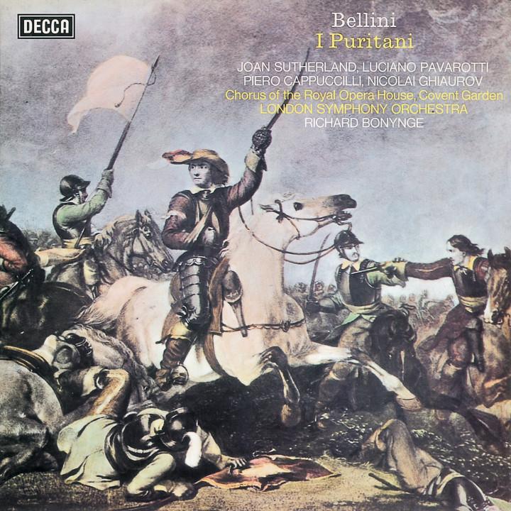 BELLINI Puritani / Sutherland, Pavarotti