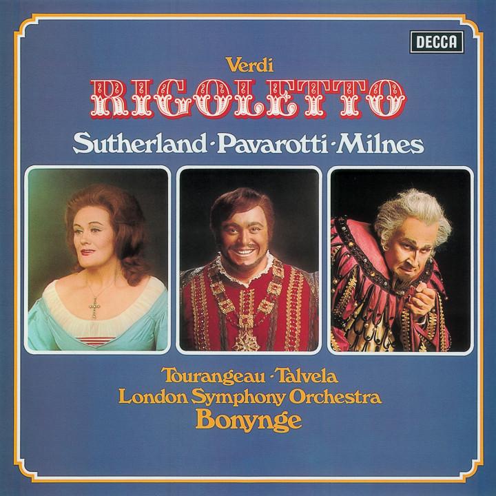 Verdi Rigoletto Sutherland/Pavarotti/Milnes/Talvela