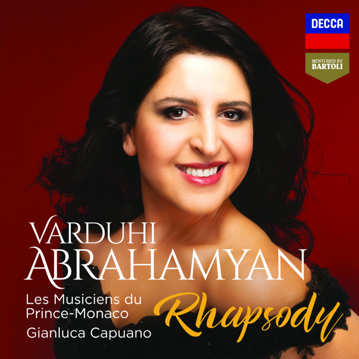 Varduhi Abrahamyan - Rhapsody Cover
