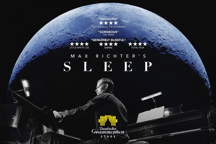 Max Richter SLEEP - DG Stage Grafik