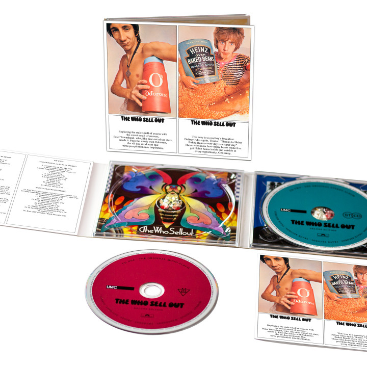 The Who Sell Out CD Packshot
