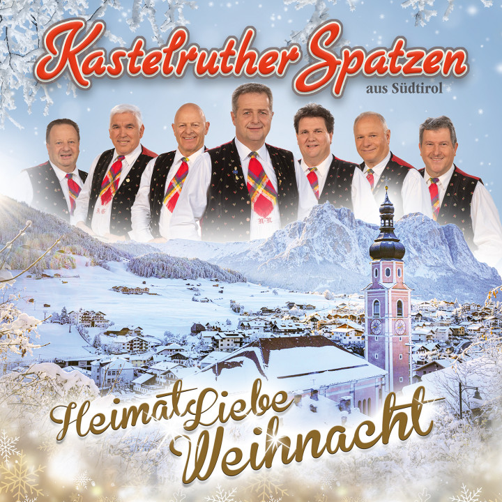 Kastelruther Spatzen - HeimatLiebe Weihnachten - Cover