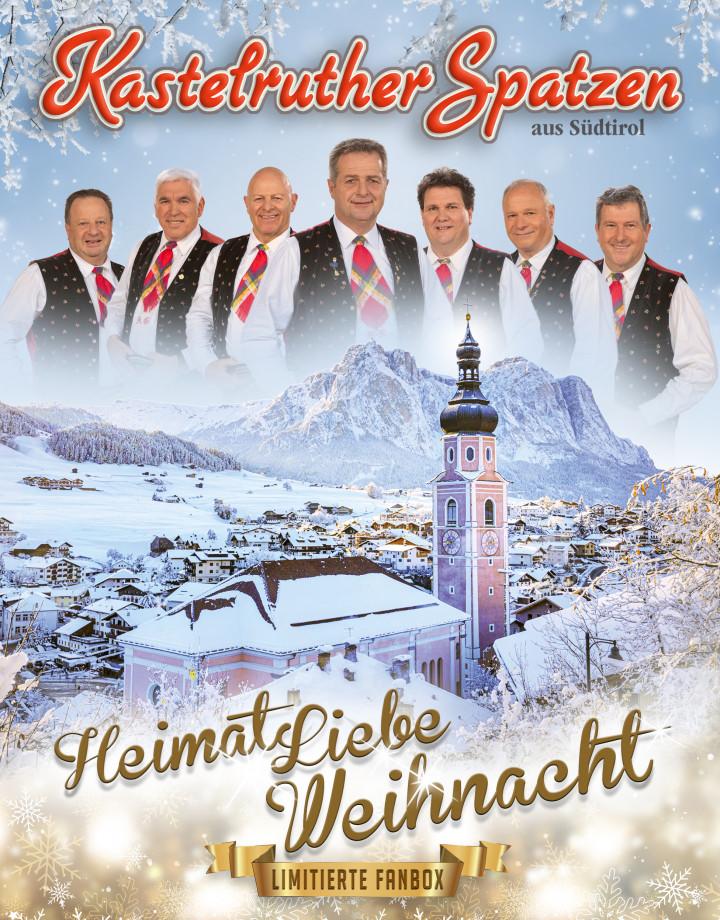 Kastelruther Spatzen - HeimatLiebe Weihnachten Limitierte Fanbox - Cover