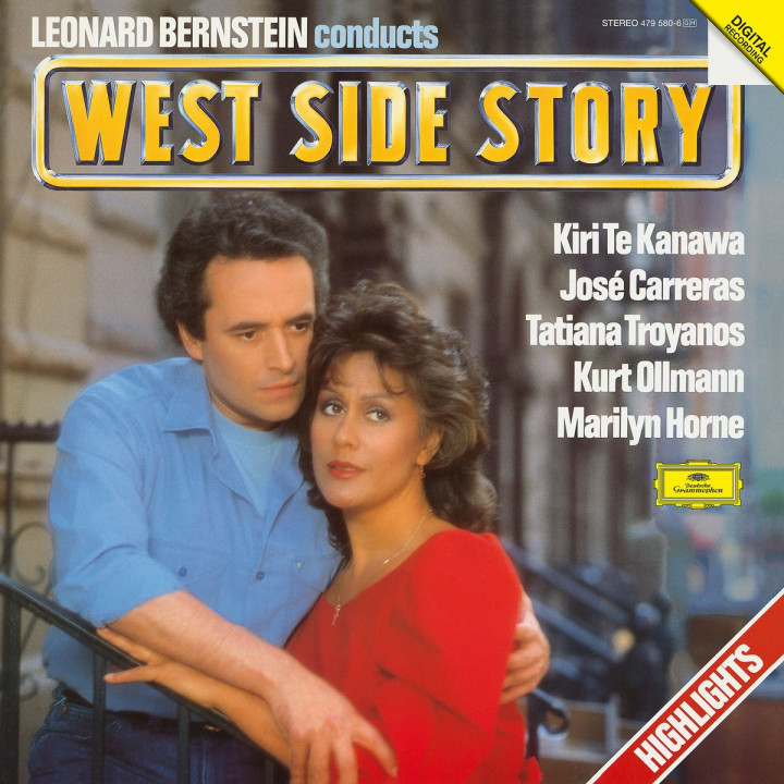 Bernstein conducts WEST SIDE STORY (Highlights)