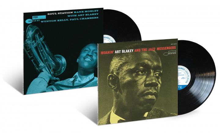 Blue Note Classic Vinyl: Hank Mobley - Soul Station / Art Blakey - Moanin'