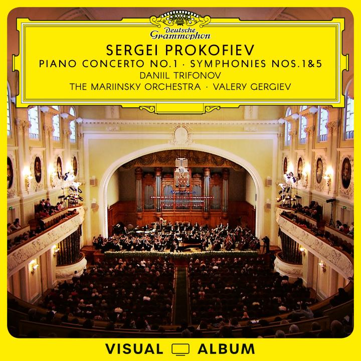 Trifonov/Gergiev - Prokofiev: Concerto No. 1 & Symphonies Nos. 1&5 EV Cover
