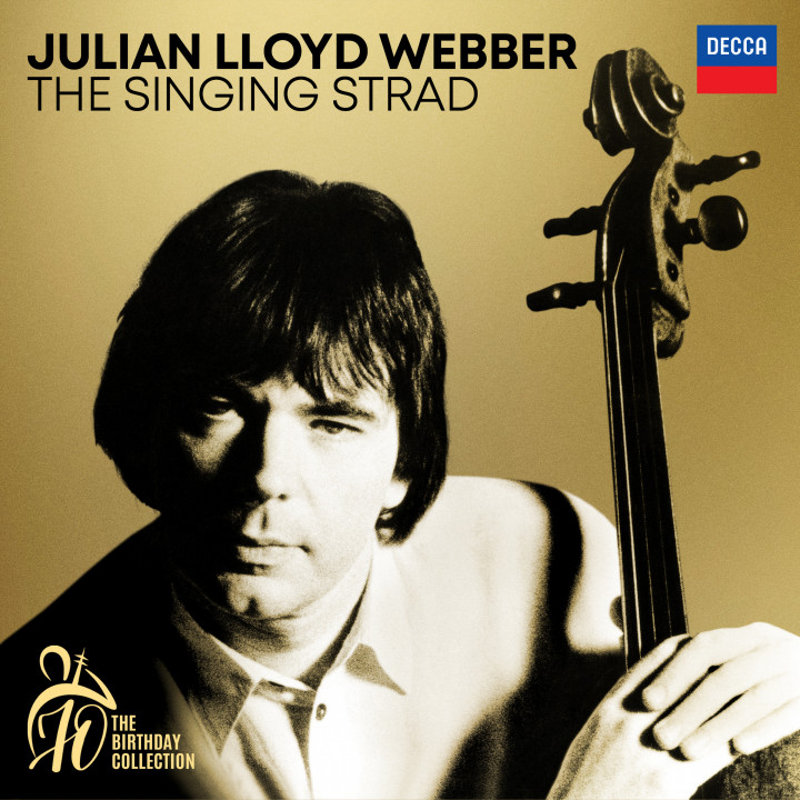 Julian Lloyd Webber - The Singing Strad Cover