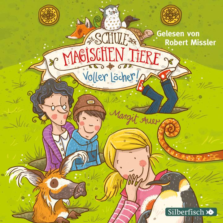 Margit Auer: Band 02: Die Schule der magischen Tiere: Voller Löcher! 09783867421508