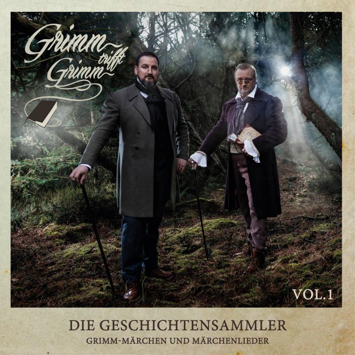 Die Geschichtensammler – Grimm-Märchen und Märchenlieder Vol. 1 - COVER