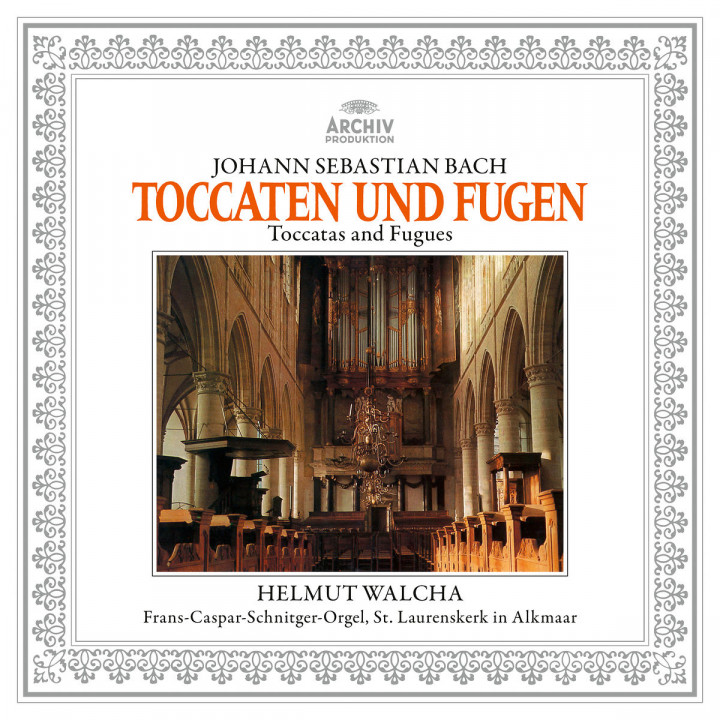 J.S.Bach: Toccaten & Fugen BWV 565, 540, 538, 564