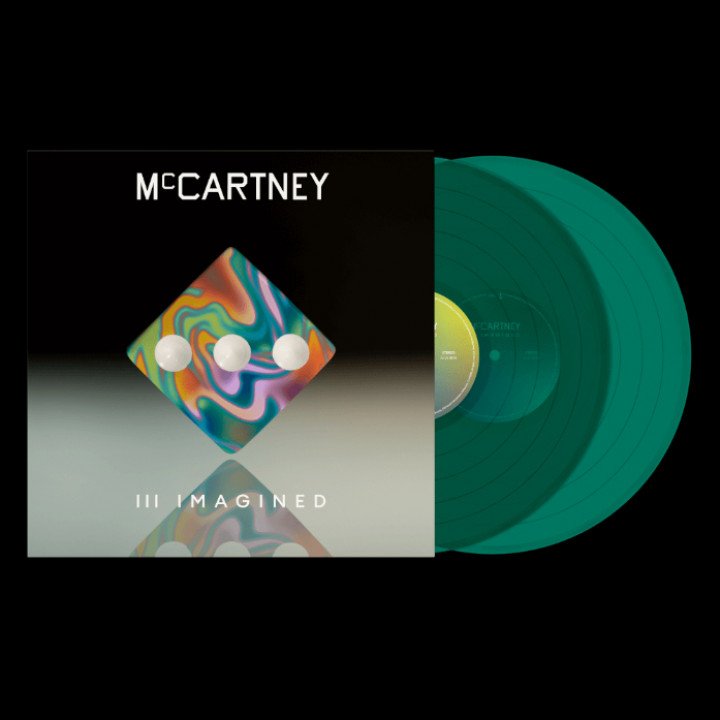 McCartney lll Imagined Dark Green LP