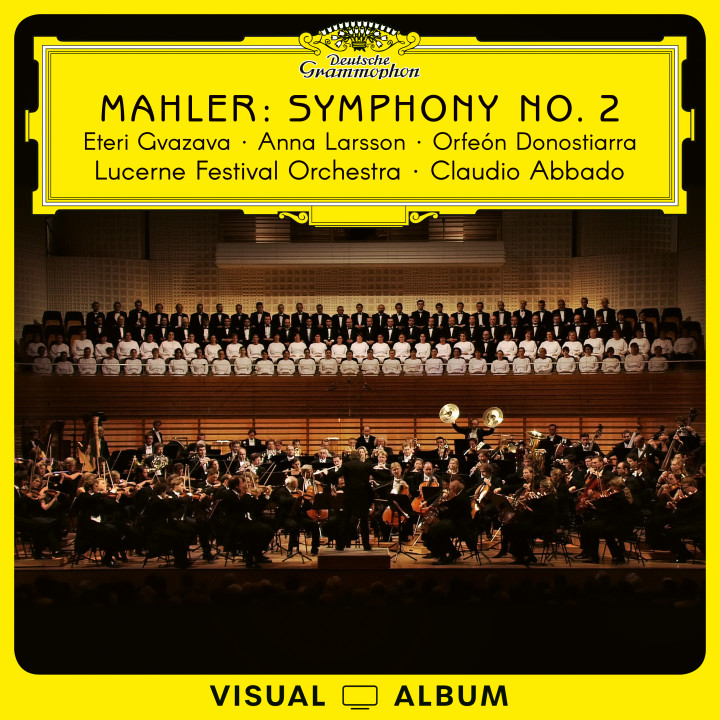 Abbado - Mahler Symphony No. 2 (Visual Album) Cover