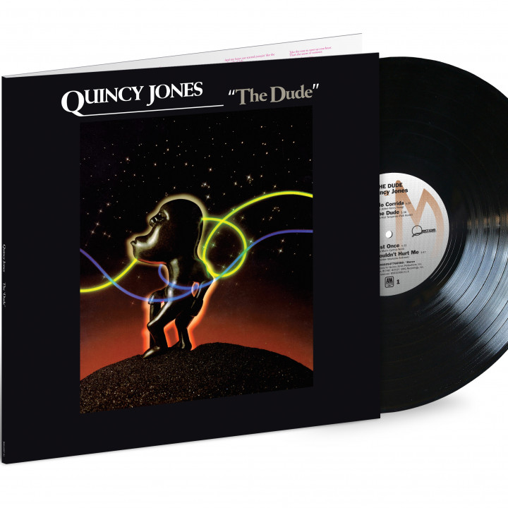 Quincy Jones - The Dude (LP) Packshot