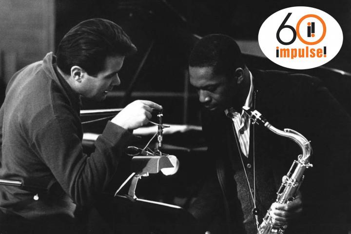 Bob Thiele und John Coltrane
