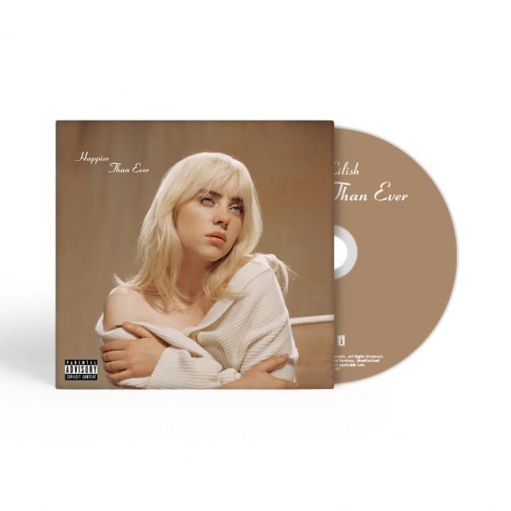 Billie Eilish Happier Than Ever CD