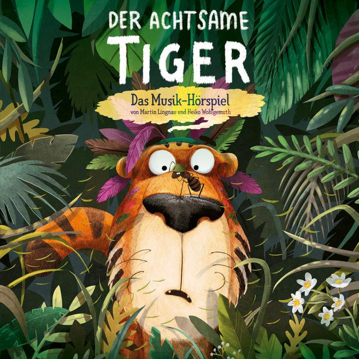 Der Achtsame Tiger - Cover - Das Musik-Hörspiel