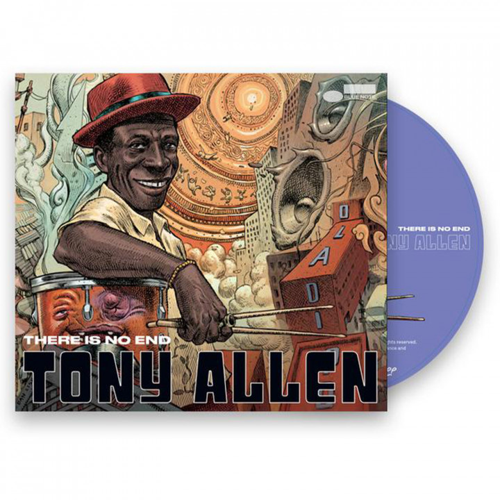 Tony Allen - There Is No End (CD Packshot)