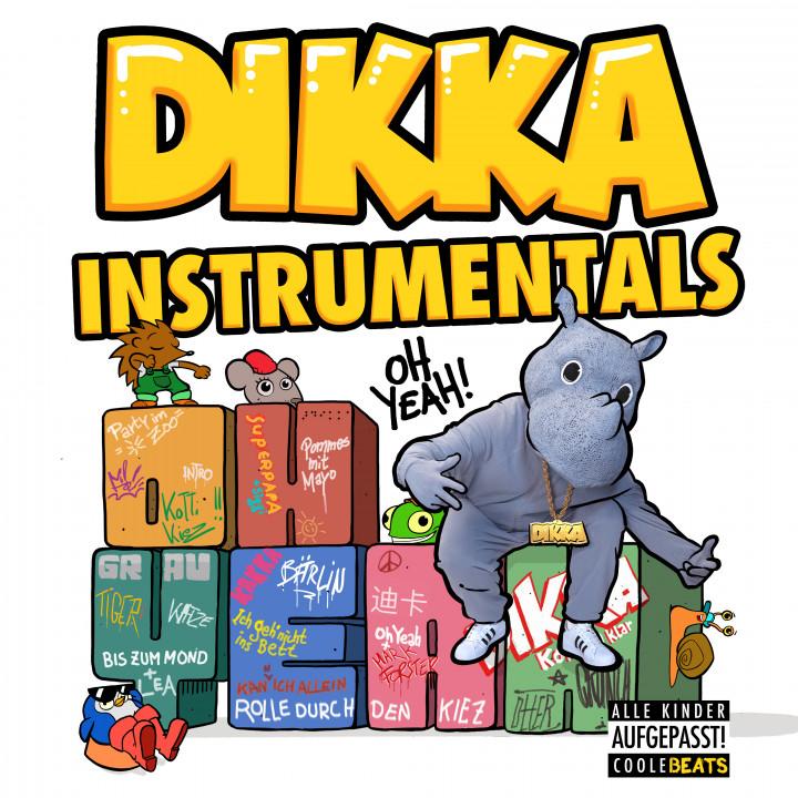 DIKKA Oh Yeah! Instrumentals - COVER