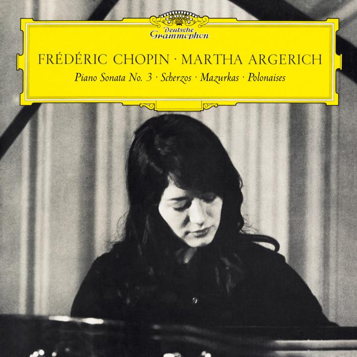 Martha Argerich - Chopin: Piano Sonata No. 3 & Scherzos, Baracolle, Mazurkas, Polonaises eAlbum Cover