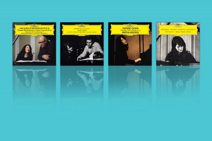 Martha Argerich - 4 New eAlbums