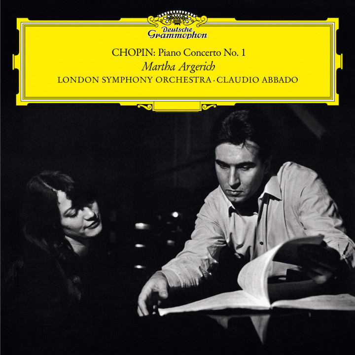 Martha Argerich - Chopin: Piano Concerto No. 1 in E Minor,  Op. 11eAlbum Cover