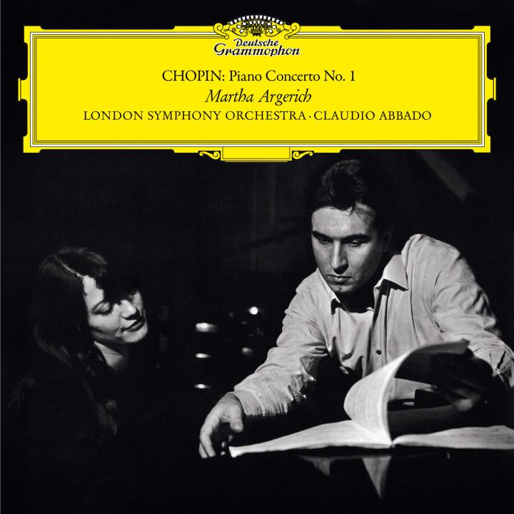 Martha Argerich - Chopin: Piano Concerto No. 1 in E Minor,  Op. 11eAlbum Cover