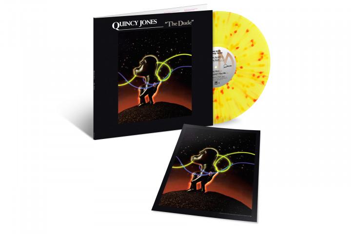 JazzEcho-Plattenteller: Quincy Jones - The Dude (Limited Coloured Vinyl)