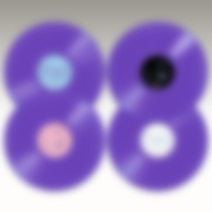 Frank Zappa LP Purple