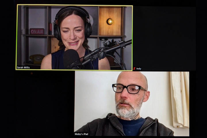 Podcast mit Moby
