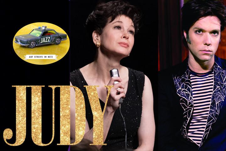 Auf Streife Im Netz: Rufus Wainwright singt Lieder von Judy Garland für Renée Zellweger